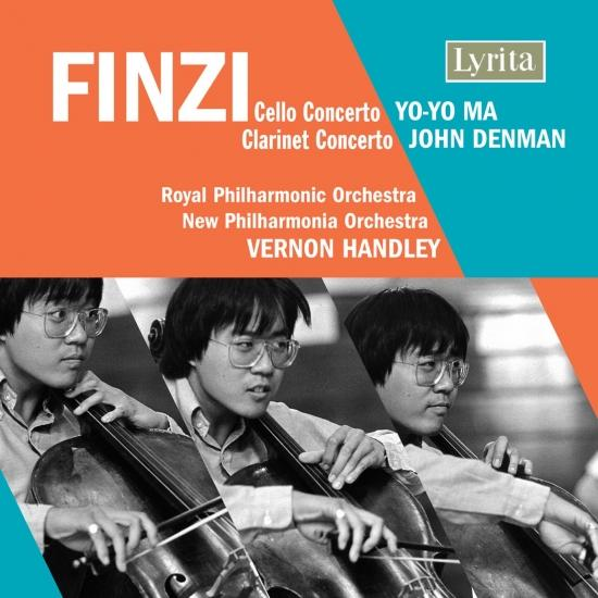 Cover Finzi: Cello Concerto, Op. 40 & Clarinet Concerto, Op. 31