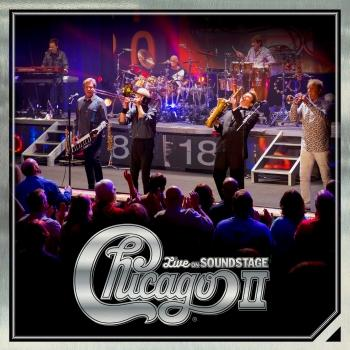 Cover Chicago II - Live On Soundstage