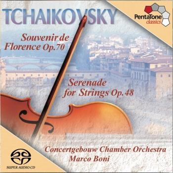 Cover Tchaikovsky: Serenade for Strings / Souvenir De Florence