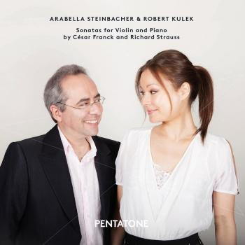 Cover Franck & Strauss: Sonatas for Violin & Piano
