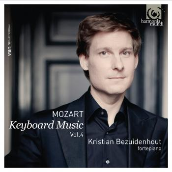 Cover Mozart: Keyboard Music Vol.4