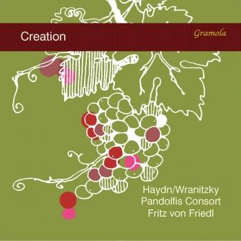 Cover Haydn: The Creation, Hob. XXI:2 (Excerpts Arr. A. Wranitzky for Narrator & String Quintet)