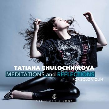 Cover Meditations & Reflections for Solo Violin