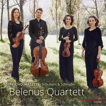 Cover Schubert & Schnyder: String Quartets