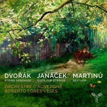 Cover Dvořák, Janáček, Martinů: Works for Strings