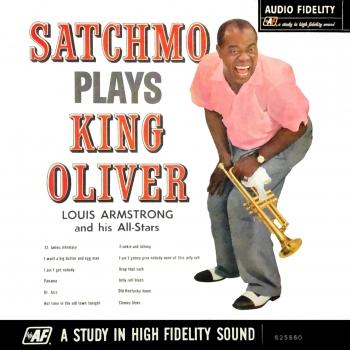 Cover Satchmo Plays King Oliver (Remastered) (Mono)