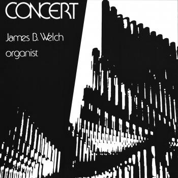 Cover James B. Welch Concert