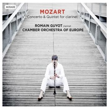 Cover Mozart: Concerto & Quintet for clarinet