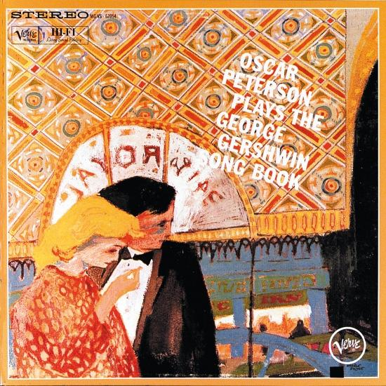 Cover Oscar Peterson Plays The George Gershwin Song Book