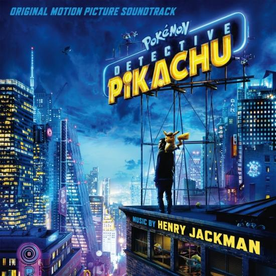 Cover Pokémon Detective Pikachu (Original Motion Picture Soundtrack)