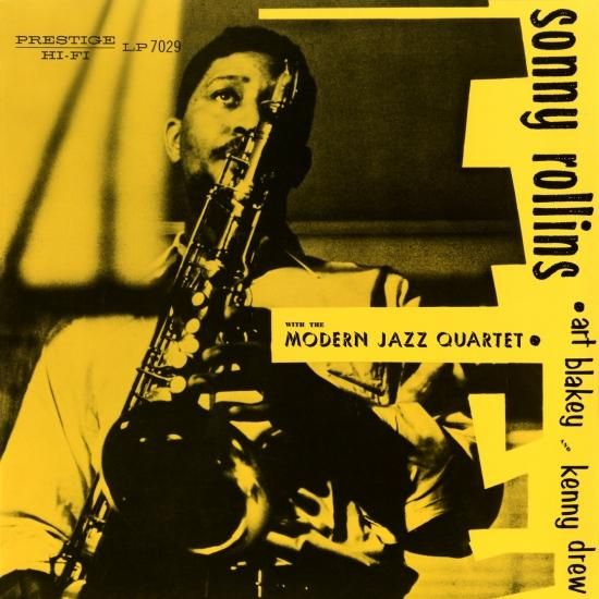 Cover Sonny Rollins With The Modern Jazz Quartet (Remastered)