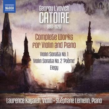 Cover Catoire: Complete Works for Violin & Piano