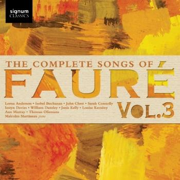 Cover The Complete Songs of Fauré, Vol. 3