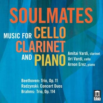 Cover Soulmates: Music for Cello, Clarinet & Piano