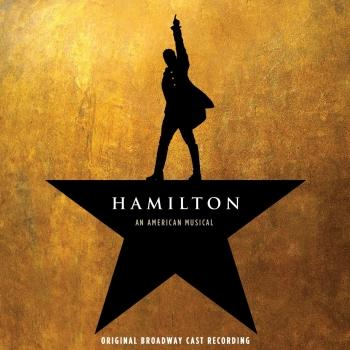 Cover Hamilton (Original Broadway Cast Recording)