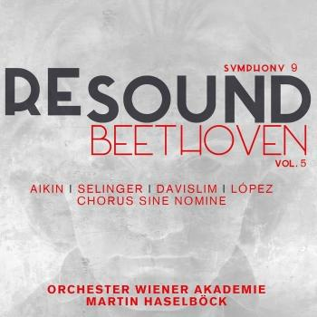 Cover Beethoven: Symphony No. 9 in D Minor, Op. 125 (Resound Collection, Vol. 5)