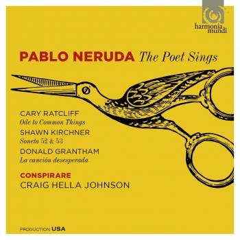 Cover Pablo Neruda: The Poet Sings