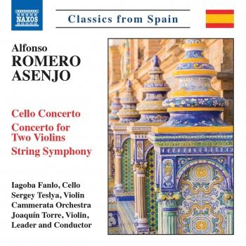 Cover Alfonso Romero Asenjo: Works for Strings