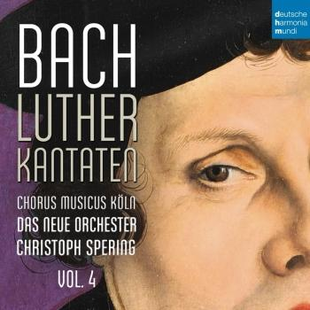 Cover Bach: Lutherkantaten, Vol. 4 (BWV 38, 80, 61)