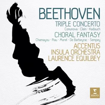 Cover Beethoven: Triple Concerto & Choral Fantasy