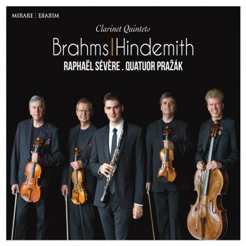 Cover Brahms & Hindemith: Clarinet Quintets