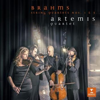 Cover Brahms: String Quartets Nos. 1 & 3