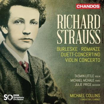 Cover Strauss: Concertante Works