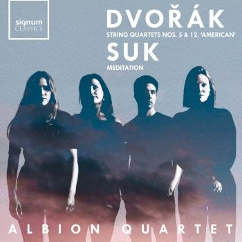 Cover Dvořák: String Quartet Nos. 5 & No. 12, 'American - Suk: Meditation