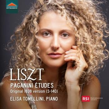 Cover Liszt: Paganini Études (Original 1838 Version)