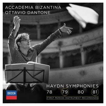 Cover Haydn: Symphonies 78, 79, 80, 81
