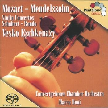 Cover Mozart: Violin Concerto No. 5 / Mendelssohn: Violin Concerto in D Minor