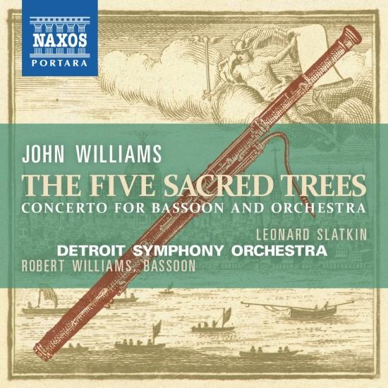 Cover Williams: Bassoon Concerto 5 Sacred Trees