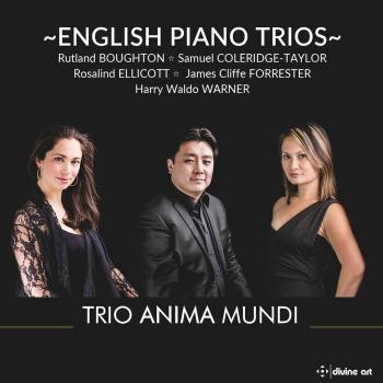 Cover English Piano Trios