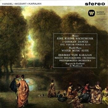 Cover Mozart: Serenade No. 13, Ave verum corpus, German Dances / Handel: Water Music