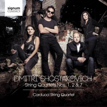 Cover Shostakovich: String Quartets Nos. 1, 2 & 7