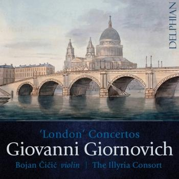 Cover Giornovich: London Concertos