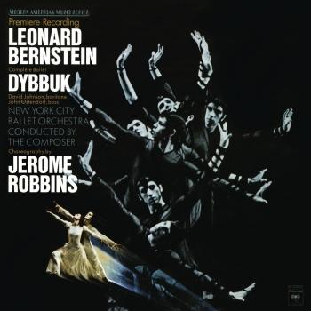 Cover Bernstein: Dybbuk - The Complete Ballet (Remastered)