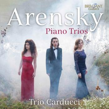 Cover Arensky: Piano Trios
