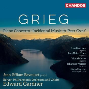 Cover Grieg: Peer Gynt, Op. 23 & Piano Concerto in A Minor, Op. 16
