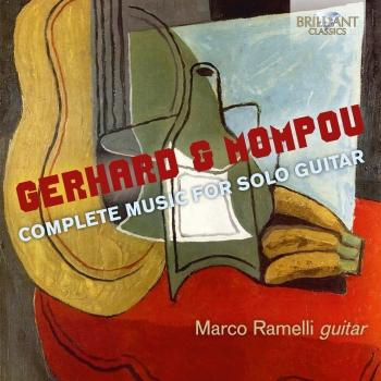 Cover Gerhard & Mompou: Complete Music for Solo Guitar
