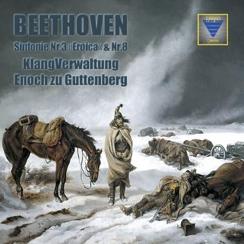 """Cover Beethoven: Sinfonie Nr. 3 """"Eroica"""" & Nr. 8 (Remastered)"""