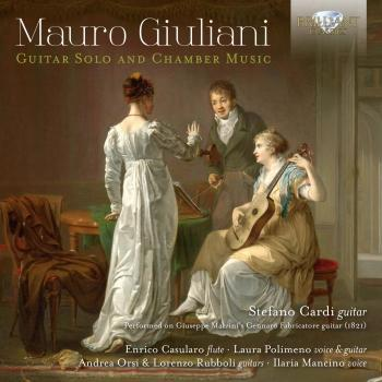 Cover Mauro Giuliani: Guitar Solo and Chamber Music