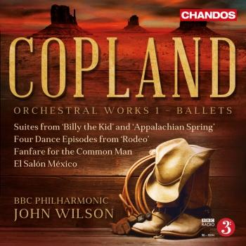 Cover Copland: Orchestral Works, Vol. 1 – Ballets