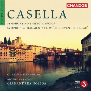 Cover Casella: Orchestral Works