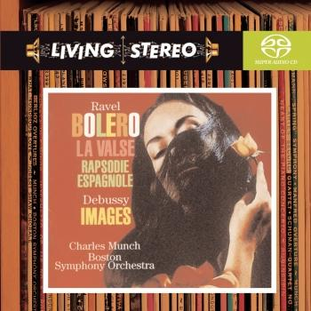 Cover Ravel: Bolero; La Valse; Rapsodie espagnole / Debussy: Images for Orchestra