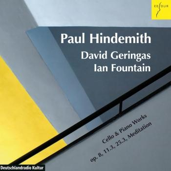 Cover Hindemith: Drei Stücke: Op. 8 / Sonate, Op. 25.3 / Sonate, Op. 11.3 / Meditation aus Nobilissima Visione
