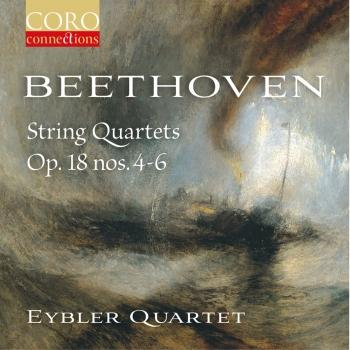 Cover Beethoven String Quartets Op. 18, Nos. 4-6