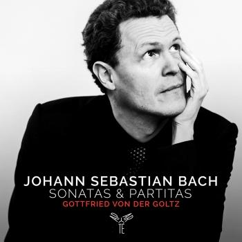 Cover J.S. Bach: Sonatas & Partitas for solo violin