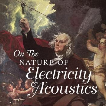 Cover On the Nature of Electricity & Acoustics (curated by Daniel Figgis)