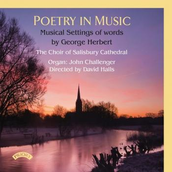 Cover Poetry in Music: Musical Settings of Words by George Herbert